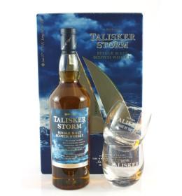 Talisker Storm + szklanki