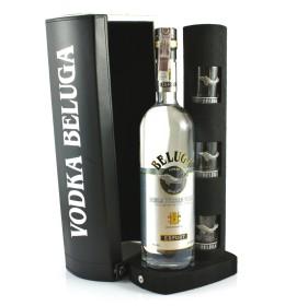 Beluga Export Noble Russian Vodka + 3 kieliszki