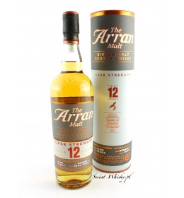 Arran 12YO Cask Strength Batch No. 5 52,9% 0,7 l