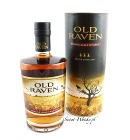 Old Raven Single Malt Whisky Triple Distilled 42% 0,5 l