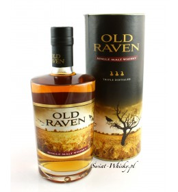 Old Raven Single Malt Whisky Triple Distilled SMOKY 42% 0,5 l
