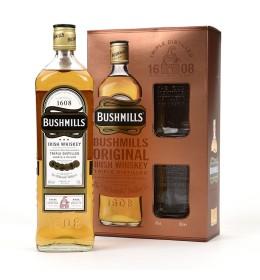 Bushmills 10YO + szklanki