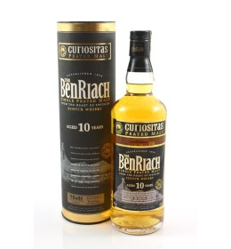 BenRiach 10YO Curiositas Peated Malt 46% 0,7 l