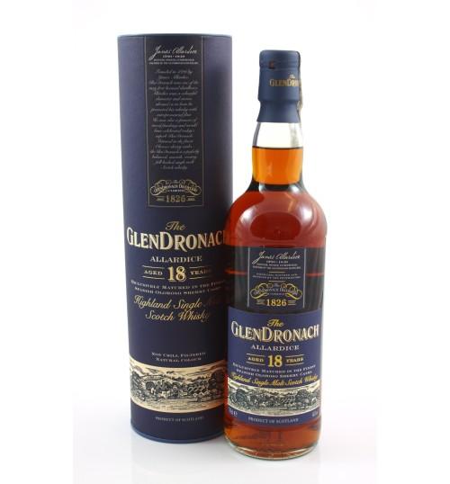 GlenDronach 18YO Allardice Oloroso 46% 0,7 l