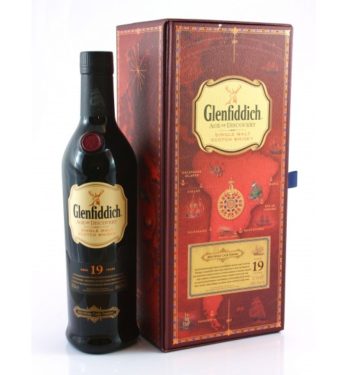 Glenfiddich 19YO Age of Discovery Red Wine Cask Finish 3rd Release 40% 0,7 l