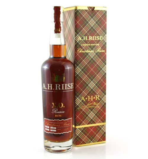 A. H. Riise X.O. Reserve Christmas Rum Limited Edition 2014 40% 0,7 l