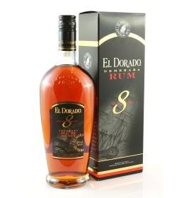 El Dorado 8YO 40% 0,7 l