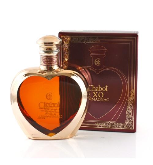 Chabot XO Armagnac Coeur 40% 0,5 l