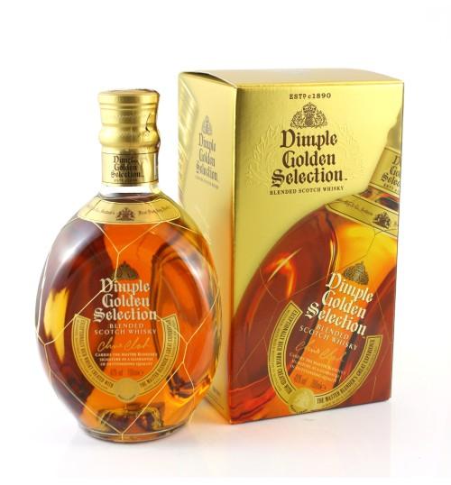 Dimple Golden Selection 40% 0,7 l