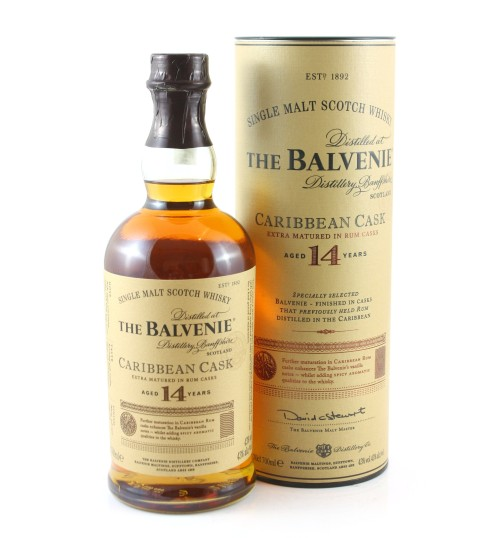 Balvenie 14YO Caribbean Cask 43% 0,7 l