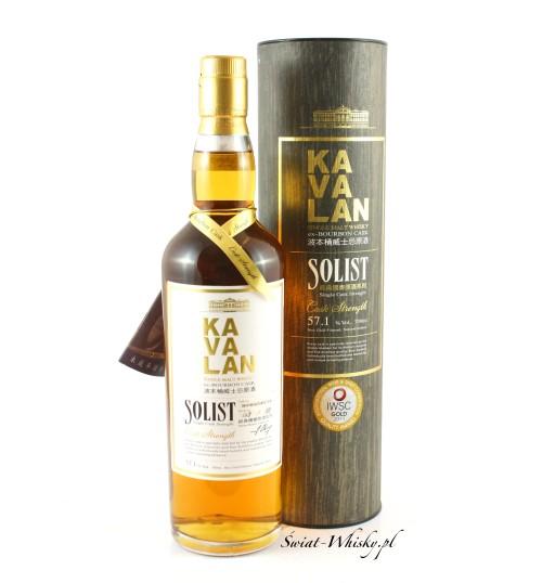 Kavalan Solist Bourbon Cask 57,1% 0,7 l