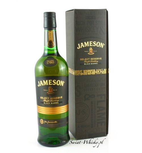 Jameson Select Reserve Black Barrel 40% 0,7 l