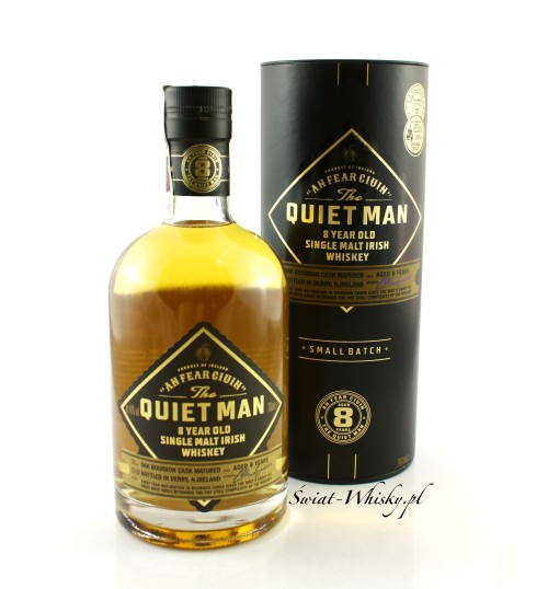 The Quiet Man 8yo Single Malt 40% 0,7 l [z tubą]