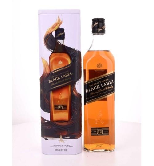 Johnnie Walker Black Label 12 YO Lim Edt by Pawel Nolbert puszka 40% 0.7