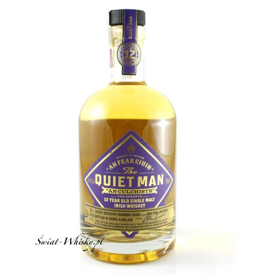 The Quiet Man 12YO Single Malt 46% 0,7 l