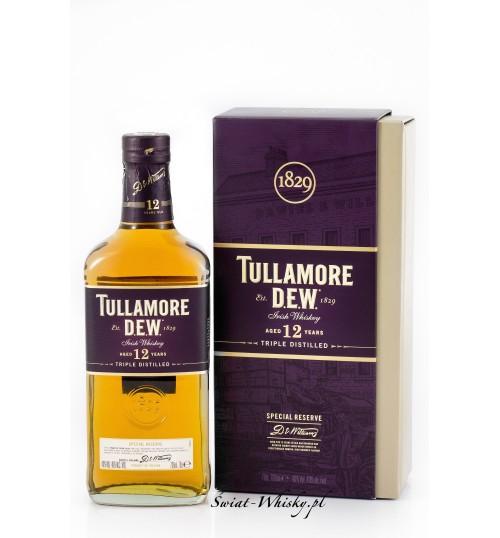 Tullamore Dew Triple Distilled 12YO 40% 0,7l