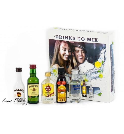 Miniset Drinks 2 Mix 32,2% 5 x 0,05 l