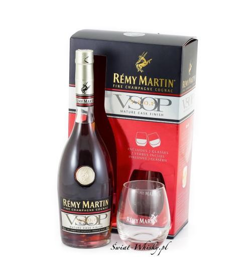 Remy Martin VSOP Mature Cask Finish 40% 0,7 l + 2 szklanki