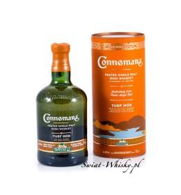 Connemara TURF MÒR Peated Single Malt Irish Whiskey 46%. 0,7 l
