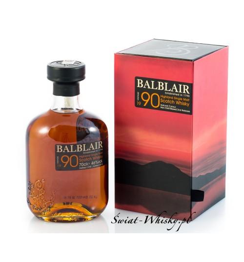 Balblair Vintage 1990 46% 0,7 l