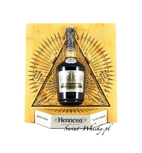 Hennessy VS Scott Campbell 40% 0,7 l