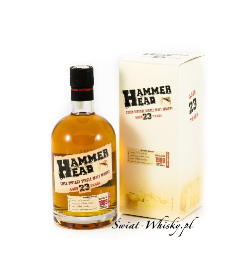 Hammer Head 23YO Czech Vintage Single Malt Whisky 40,7% 0,7 l