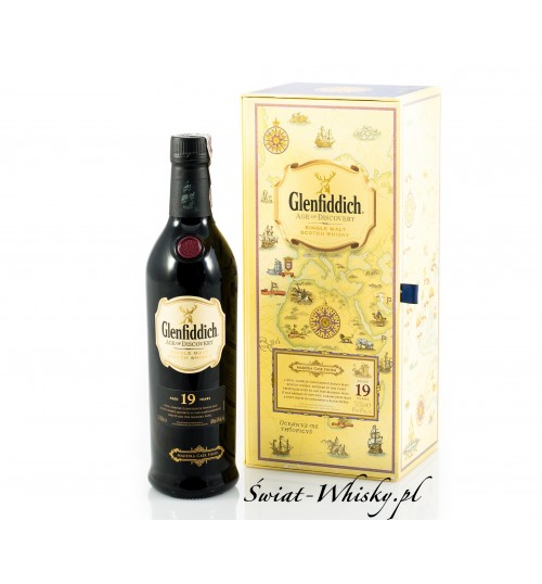 Glenfiddich 19YO Age of Discovery Madeira Cask Finish 1st Release 40% 0,7 l