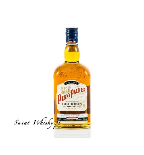 PennyPacker Kentucky Straight Bourbon Whiskey 40% 0,7 l