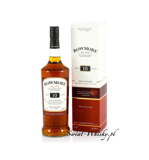 Bowmore 10YO Dark & Intense 40% 1.0l