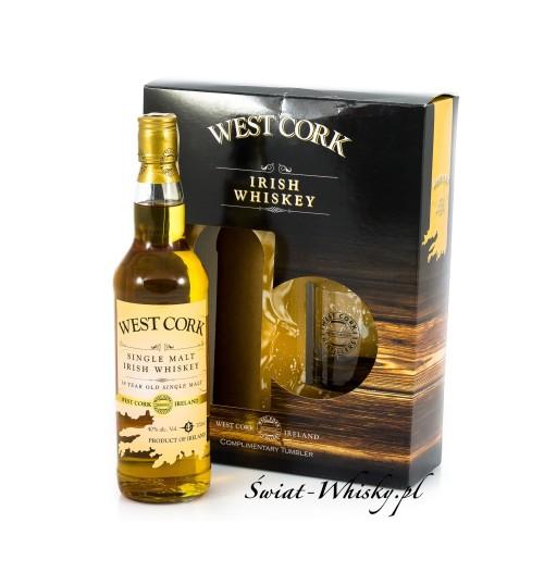 West Cork Single Malt 40% 0,7 l + szklanka