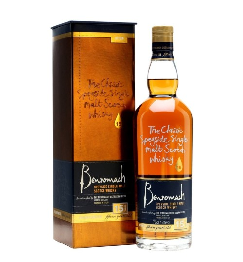 Benromach 15YO 43% 0,7l