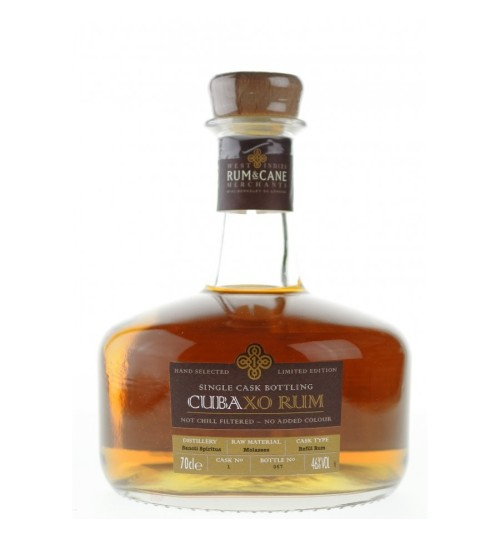 Rum & Cane Cuba XO Rum Limited Edition 46% 0.7l