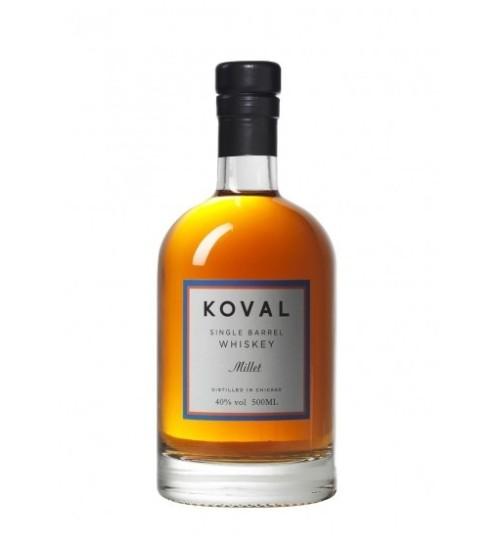 Koval MILLET Singel Barrel Whiskey 40% 0,5 l