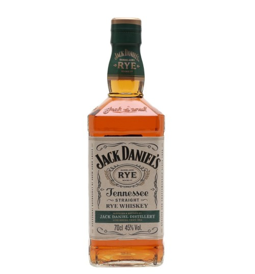 Jack Daniel's Tennessee Rye Whiskey 45% 0.7l