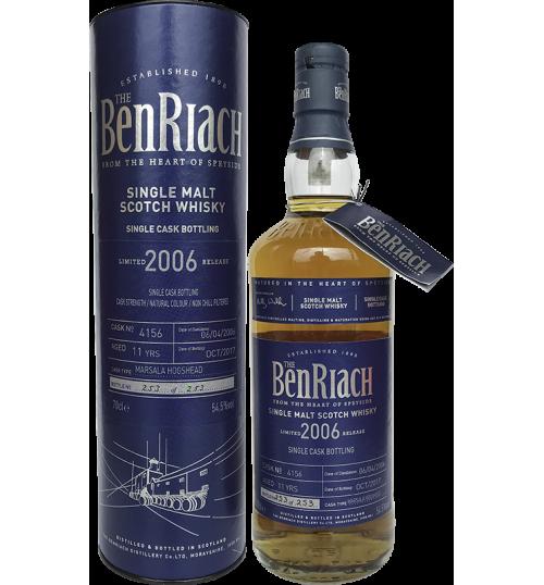 BenRiach 11yo 2006 Marsala 0.7l 54.5%