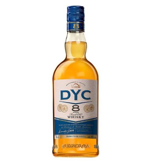 DYC Destilerias y Crianza 8YO Whisky 40% 0,7 l
