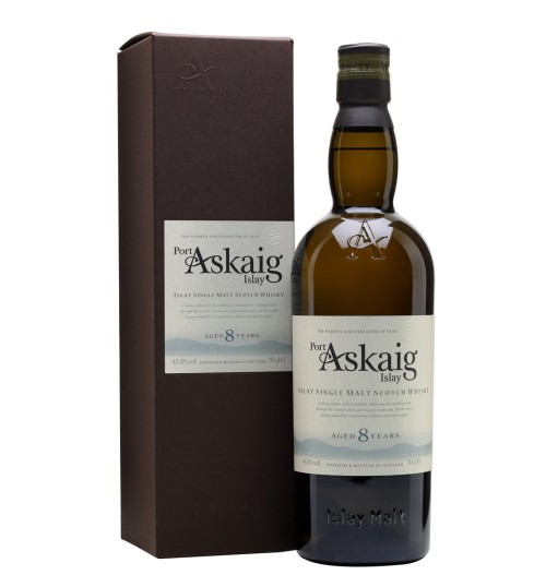 Port Askaig Islay Single Malt 8YO 45.8% 0.7l