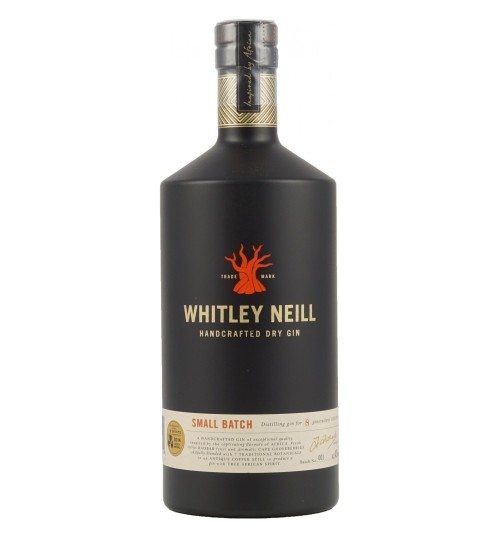 Whitley Neill London Dry Gin No.7 43% 1.0l