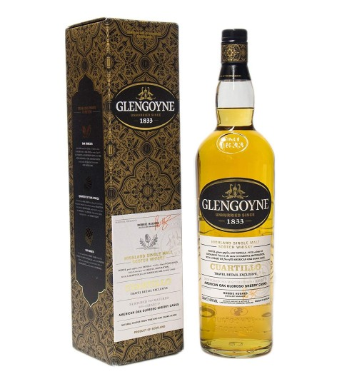 Glengoyne Cuartillo 40% 1.0l