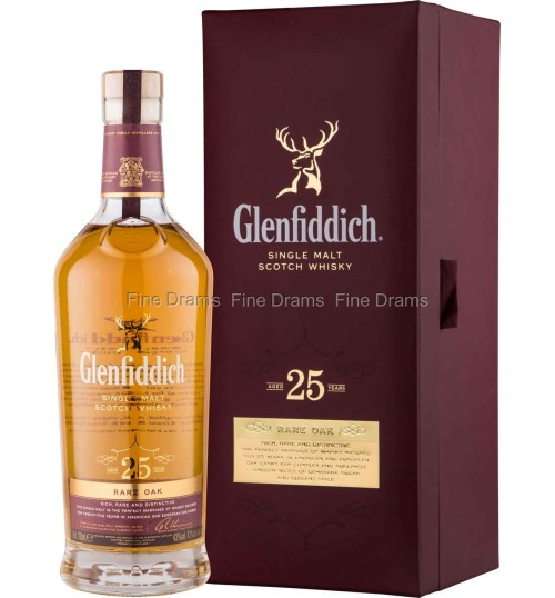 Glenfiddich 25yo Rare Oak 43% 0.7l