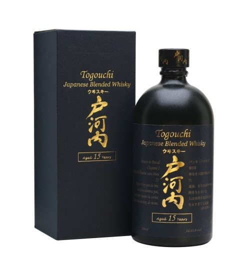 Togouchi 15yo 43.8% 0.7l