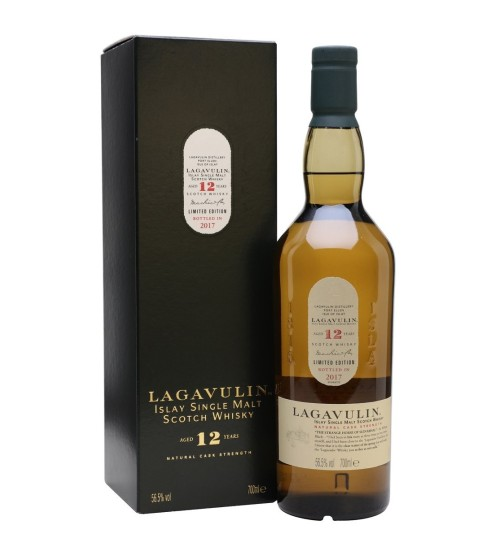 Lagavulin 12YO Natural Cask Strenght Limited Edition 2017 56,5% 0,7 l