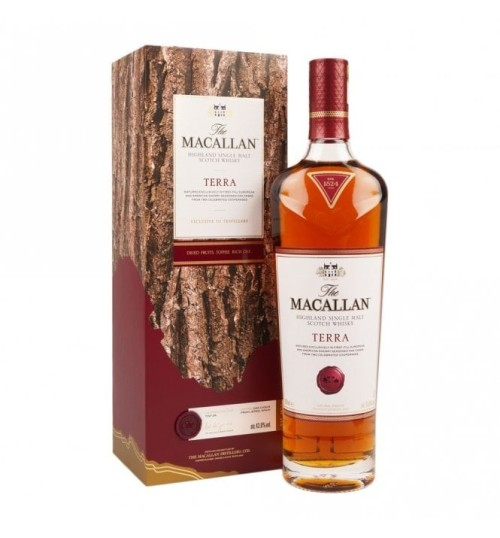 The Macallan TERRA Highland Single Malt Scotch Whisky 43,8% 0,7 l