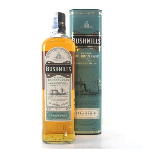 Bushmills CHAR BOURBON CASK Reserve The Steamship Collection 40% 1 l