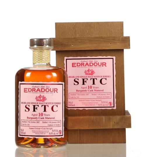 Edradour SFTC 10yo Burgundy 2007 58.7% 0.5l