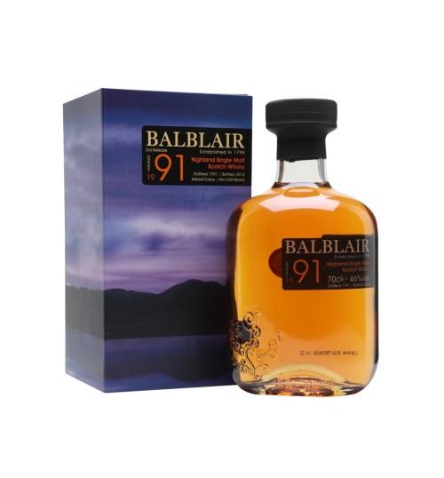 Balblair Vintage 1991 27YO 46% 0,7 l