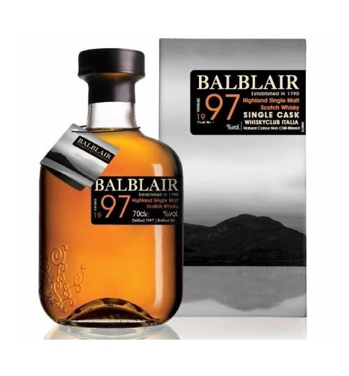 Balblair 1997 19YO Vintage Single Cask 48,5% 0.7l