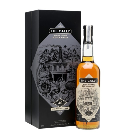 The Cally 40YO Single Grain Whisky 53,3% 0.7l
