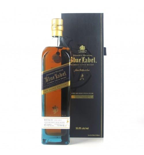 Johnnie Walker Blue Label Cask Edition 55,8% 1.0l