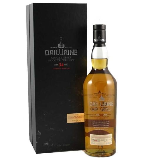 Dailuaine 34YO 1980/2015 50.9% 0.7l